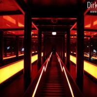 Rolltreppe auf Zeche Zollverein