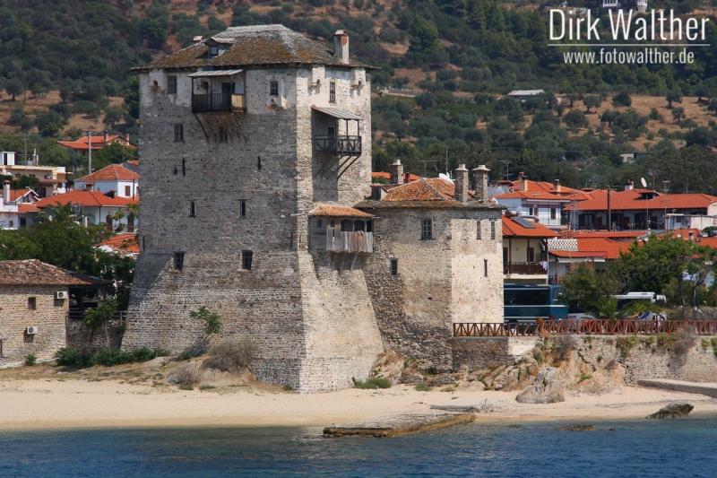 Athos-Kreuzfahrt - Hafen von Ormos Panagias