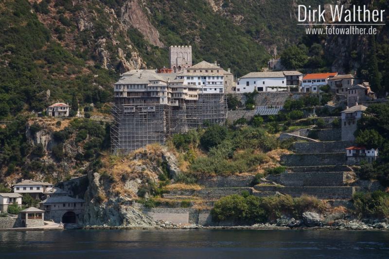 Athos-Kreuzfahrt - Kloster Moni Agiou Dionisiou