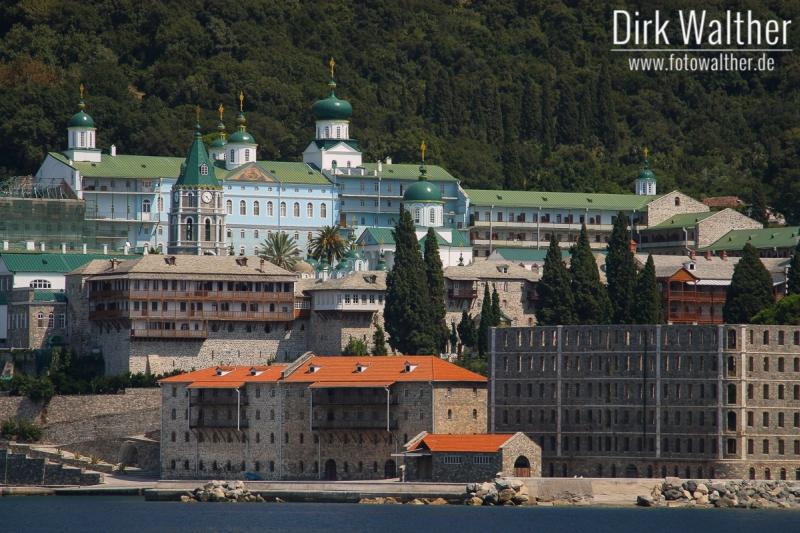 Athos-Kreuzfahrt - Kloster Moni Agiou Pantelimonou