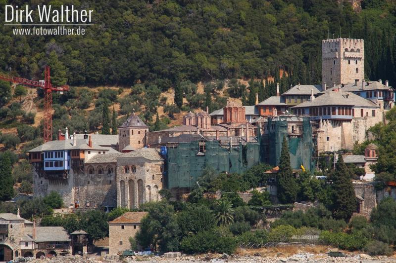 Athos-Kreuzfahrt - Kloster Moni Dochiariou