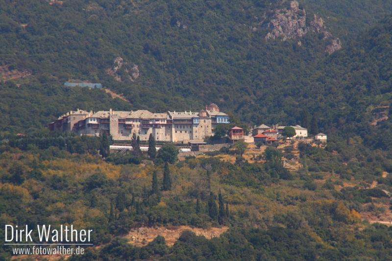 Athos-Kreuzfahrt - Kloster Moni Xirapotamou