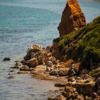 Halbinsel Kassandra - Küste bei Nea Fokea