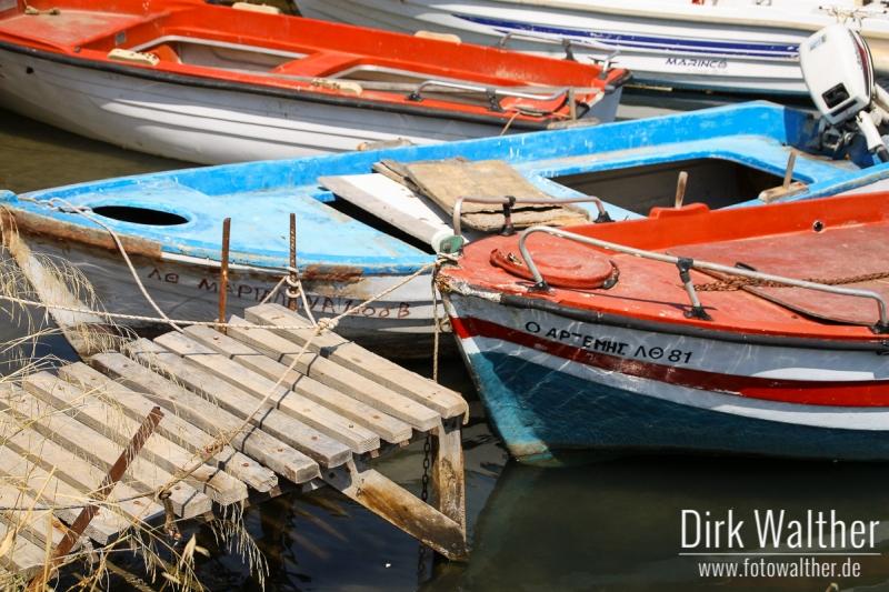 Halbinsel Kassandra - Kleine Boote