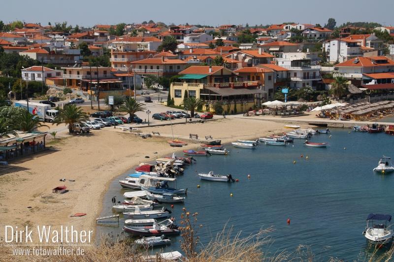 Halbinsel Kassandra - Strand von Nea Fokea