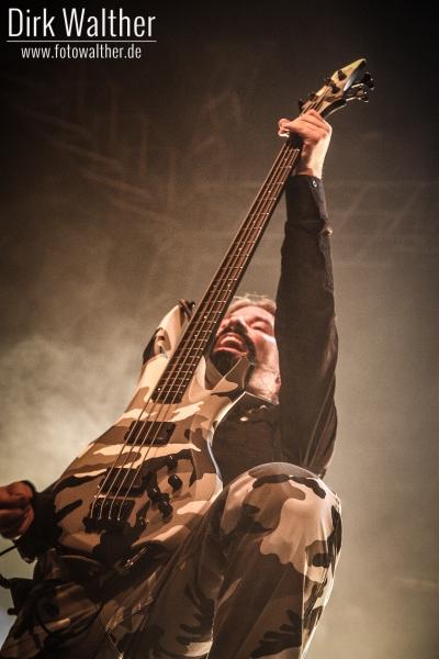 Sabaton @ Power Of Metal 2011