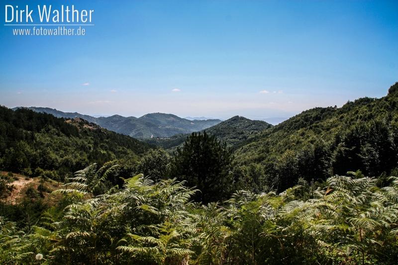 Inland von Chalkidiki - Grüne Idylle im Cholomondas-Gebirge