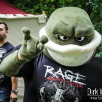 Rage Against Racism Maskottchen