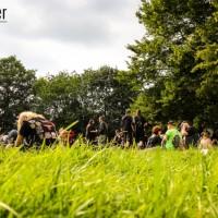 Sommerliche Atmosphäre auf dem Rage Against Racism 2014