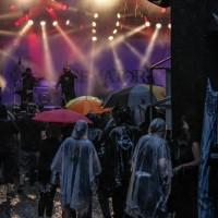 Regenschauer bei Crematory