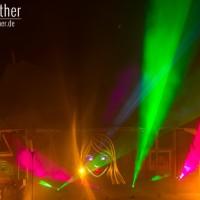Extraschicht 2014 - Lasershow Nordsternpark