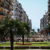Thessaloniki - Blick auf den Aristoteles-Platz