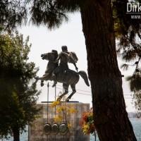 Thessaloniki - Der einsame Reiter