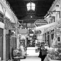 Thessaloniki - Markthalle in der Wirtschaftskrise
