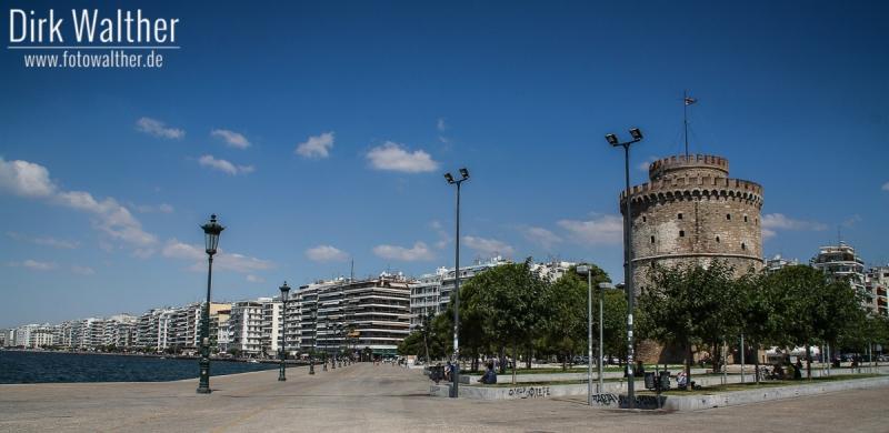 Thessaloniki - Promenade mit dem weißen Turm