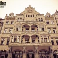 Fassade in der Leipziger Innenstadt