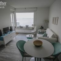 Wohnzimmer unserer Ferienwohnung