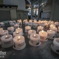 Kerzen im Michel