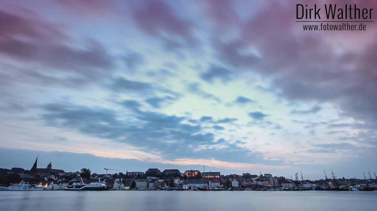 Panorama Hafen Flensburg