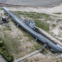 U-Boot U 995 von oben