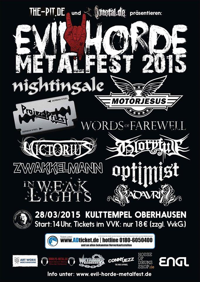 Evil Horde Festival 2015