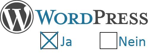 Wordpress ja oder nein