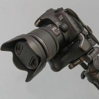 Canon EOS 60D auf Cullmann Nanomax 450 RW20