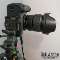Cullmann Nanomax 450 RW20 mit Canon EOS 60D + EF-S 15-85