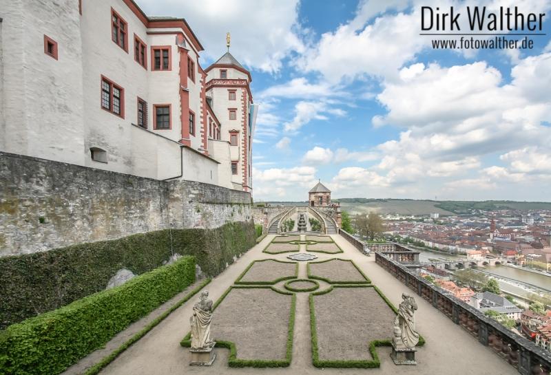 Festung Marienberg Terrasse