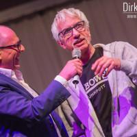 Lieb Ju Catwalk - Moderator Stefan Schulze-Hausmann interviewt Ralf Richter