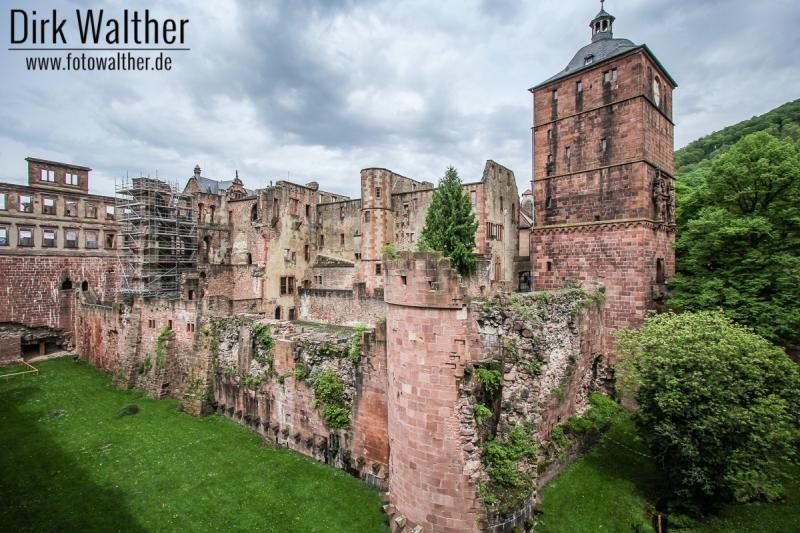 Ruine Schloss Heidelberg