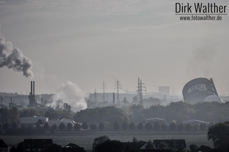 Sprengung DEW 21 Gasometer Dortmund