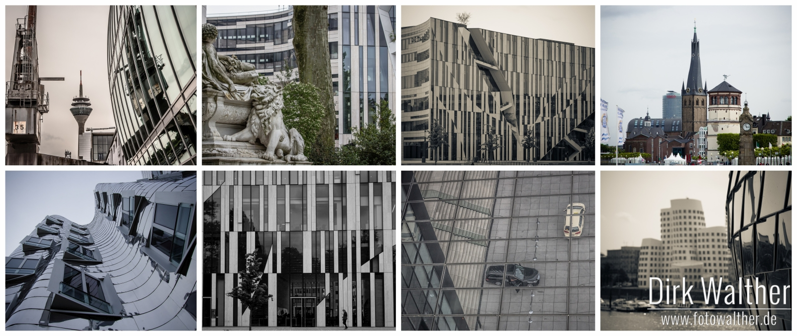 Collage: Düsseldorf