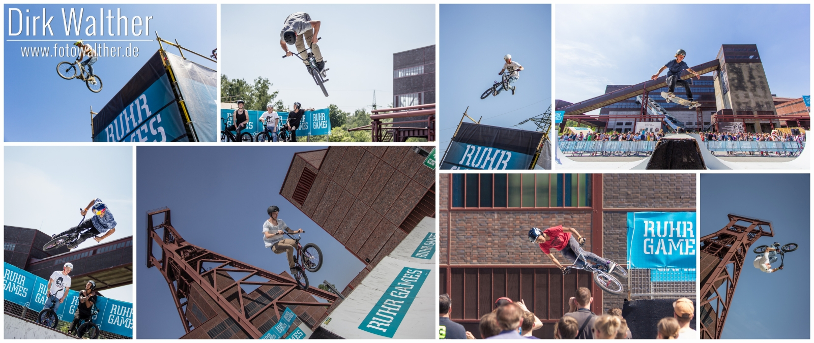 Collage: Ruhr Games
