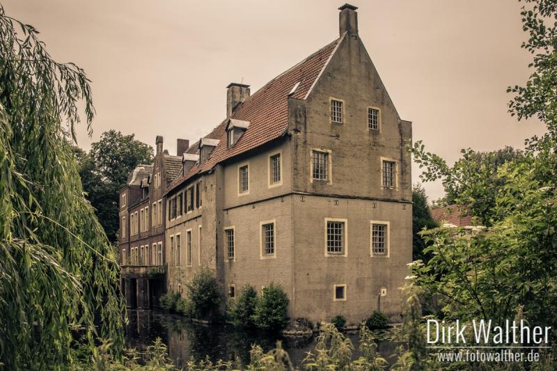 Schloss Senden Seitenansicht
