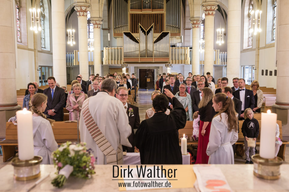 Hochzeit Pia & Alex - Trausegen