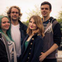 Besucher auf dem Olgas Rock Festival 2016