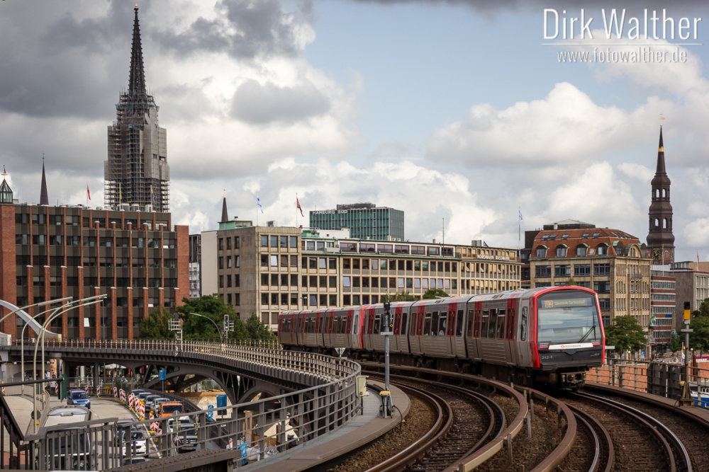 U-Bahn 3 in Hamburg
