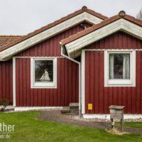 Schwedenhaus grün  Fehmarn & Ostholstein | Fotowalther.de | Fotografien von Dirk Walther