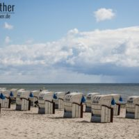 Strandkörbe in Grömitz