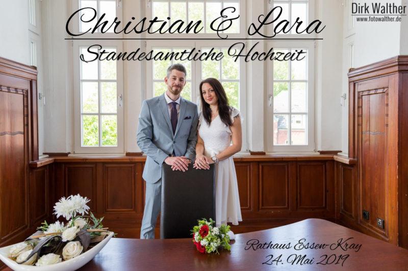 Standesamtliche Hochzeit Cristian & Lara